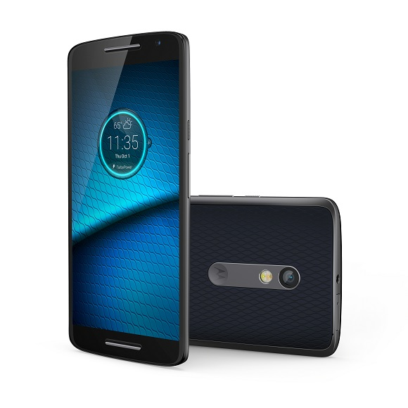 Droid Maxx 2 Deep Sea Blue Front and Back-1