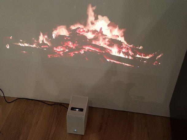 この暖炉はいい感じです