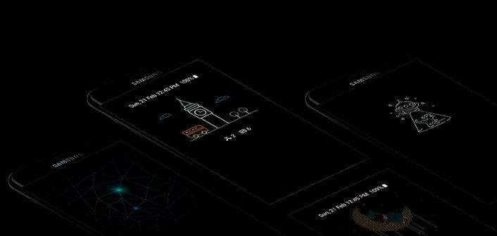 Galaxy S7 AOD