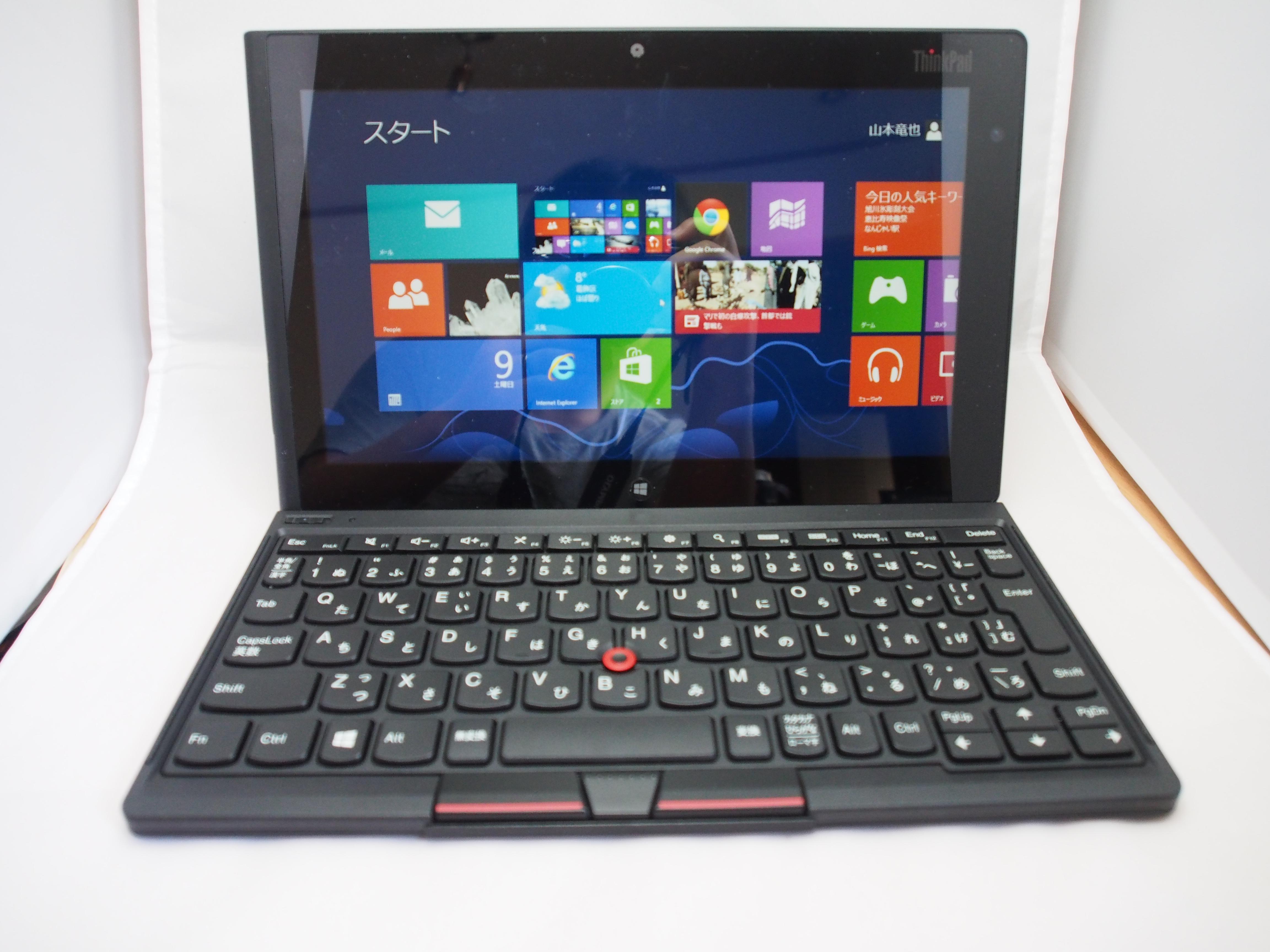 Thinkpad tablet 2 Bluetoothキーボード