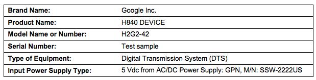 H840 device