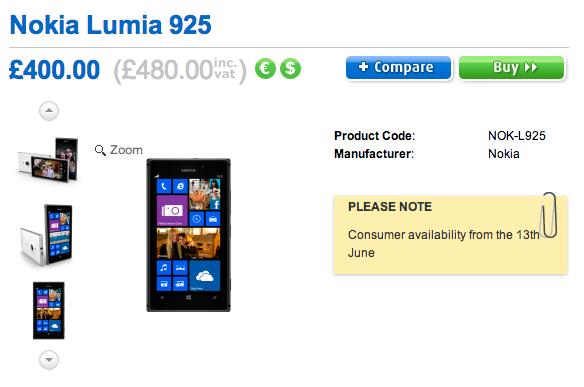 Lumia 925 clove