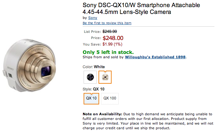 Amazon.com__Sony_DSC-QX10_B_Smartphone_Attachable_4.45-44.5mm_Lens-Style_Camera__SONY__Camera___Photo 2