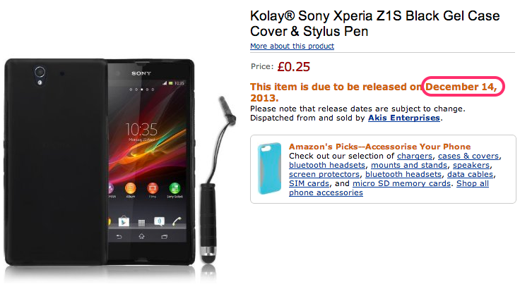 Kolay®_Sony_Xperia_Z1S_Black_Gel_Case_Cover___Stylus_Pen__Amazon.co.uk__Electronics-5