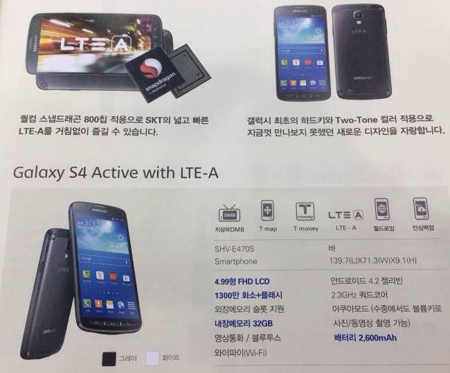 S4 Active LTE-A