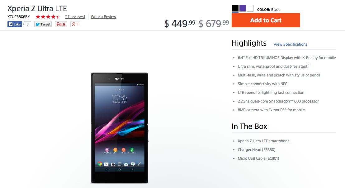 Xperia_Z_Ultra_LTE_Unlocked_Smartphone_-_XZUC6806_Review_-_Sony_US