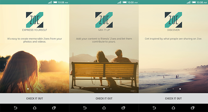 Zoe-Google-Play-Launcher