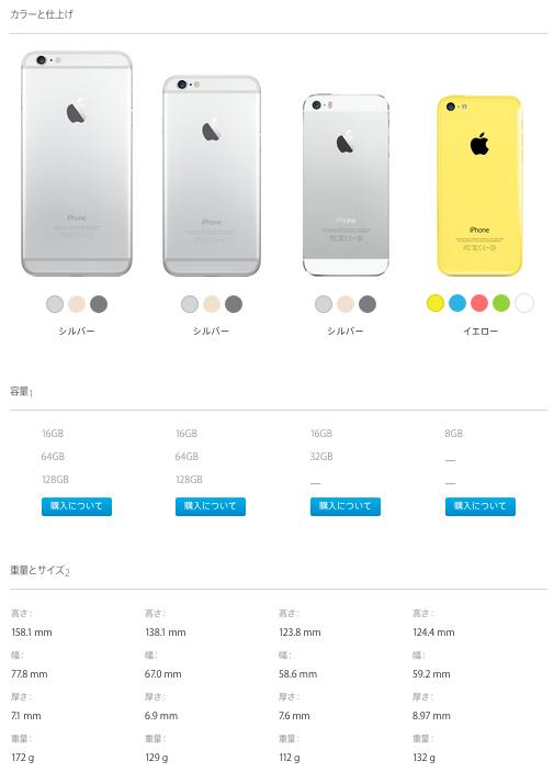 Apple_-_iPhone_-_モデルを比較する 2
