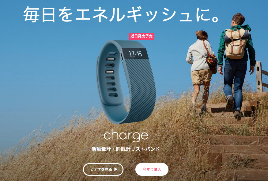 Fitbit_Charge™_ワイヤレス活動量計・睡眠計リストバンド