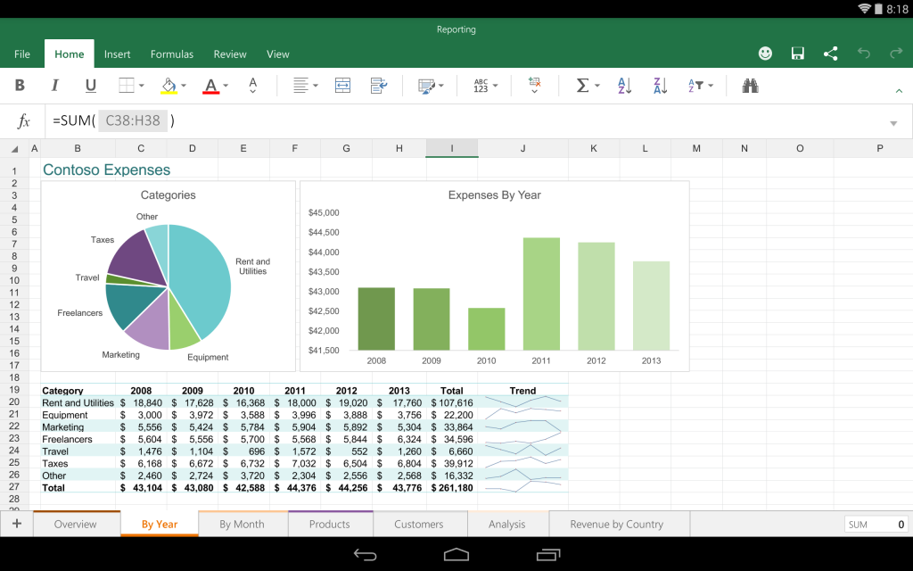 Excel-for-Android-Preview-1-1024x640