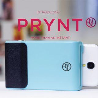 写真を印刷できるスマートフォンケース 「Prynt」 AR機能で動画の再生も可能