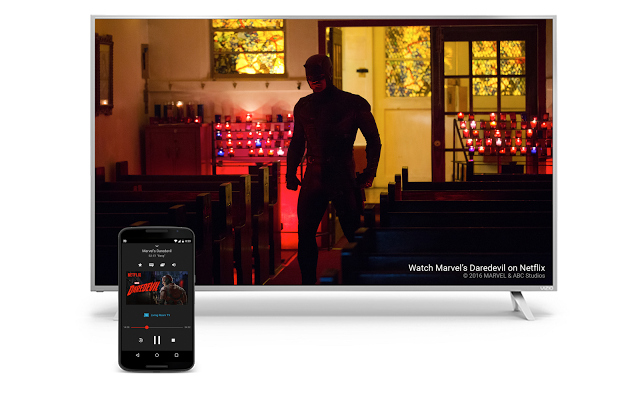 Daredevil Netflix Vizio TV+Tablet Image