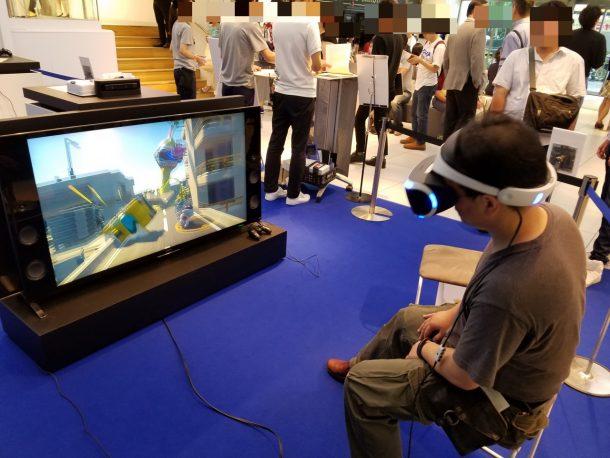 PlayStation VR 特別体験会&先行予約販売