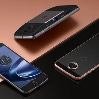 Motorola、着せ替えジャケット「Moto Mods」に対応した「Moto Z」を発表