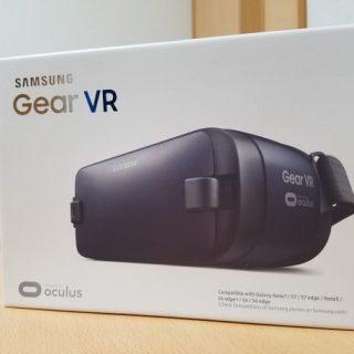 黒い新型Gear VRを購入 従来品を比べてみた