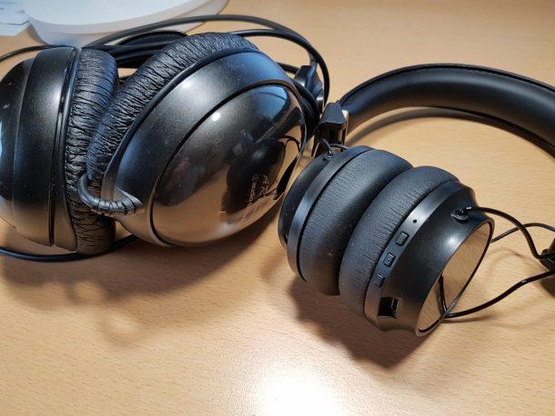 audio-technica ATH-A55と比較