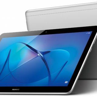 HUAWEI、エントリーモデルのタブレットMediaPad T3 10を発表。LTEモデルが22800円(税抜)