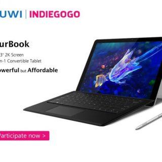 CHUWIのSurface Pro 4クローンPC、SurBookがindiegogoで出資募集中