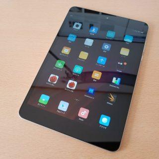 Xiaomi Mi Pad 3をレビュー、シンプルにビューワーとして使いたいタブレット