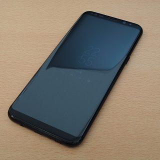意外にいい! Galaxy S8+に498円の格安ガラスフィルムを貼ってみた