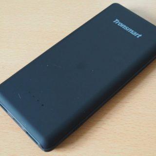 HUAWEI端末の急速充電にも対応! 10,000mAhのモバイルバッテリ Tronsmart Presto