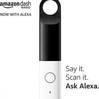 米Amazon、Alexaに対応した「Amazon Dash Wand」を発売。バーコードスキャンのほか、Alexa経由でも注文可能