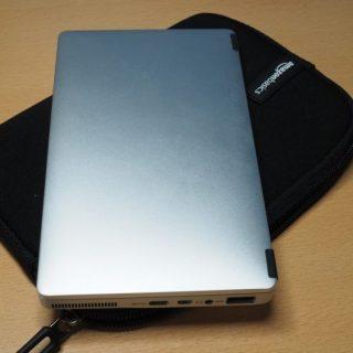 GPD PokcetにはAmazonベーシックの7インチ用タブレットケースがピッタリ