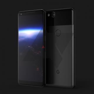 次期Pixel XL 2(taimen)のレンダリング画像が公開 18:9ディスプレイにHTC U11と同じ握れるフレームを搭載との噂
