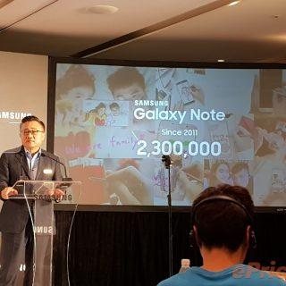 Galaxy Note8は8月末に発表、9月に発売。Samsung CEOが明言