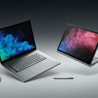日本マイクロソフト、Surface Book 2 15インチモデルとSurface Pro LTEモデルを4月6日に国内発売